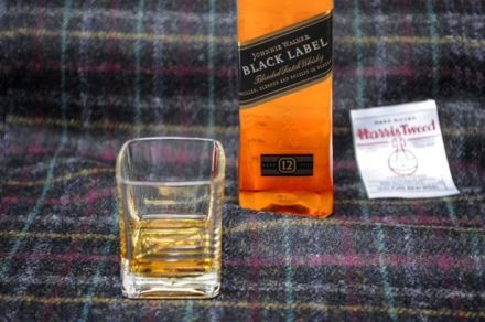 The Johnnie Walker and Harris Tweed Fabric of Flavour - via Scotland Now