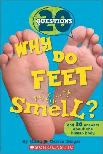 why do feet smell